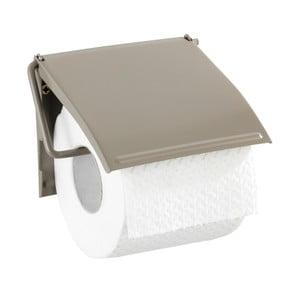 Hnedobéžový nástenný držiak na toaletný papier Wenko Cover