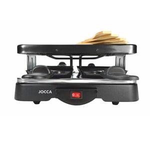 Čierny rakletovač s nepriľnavým povrchom JOCCA Raclette