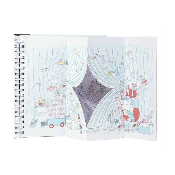 Kniha pre bábätko Chronicle Books Le Petit Baby Book