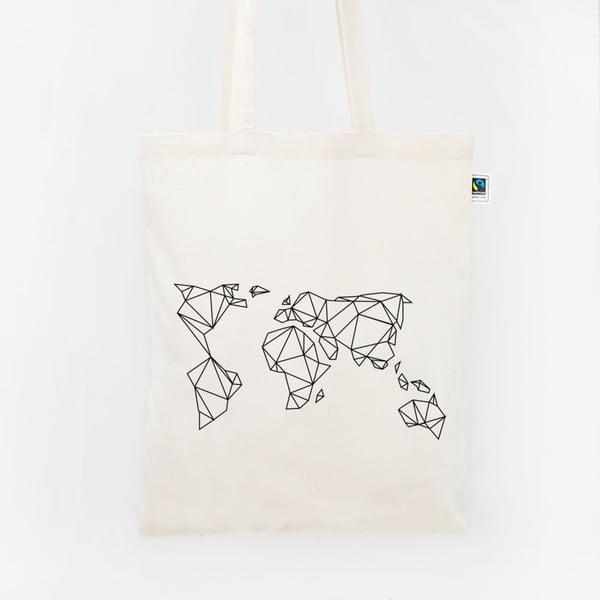Plátená taška Geometrische Erde