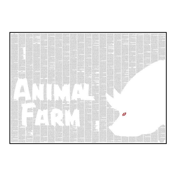 Knižný plagát Zvieracia farma, 70x50 cm