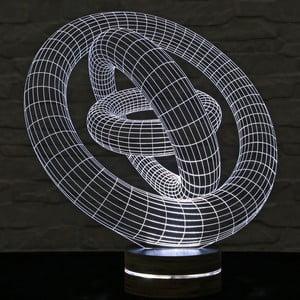 3D stolová lampa Cosmo