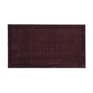 Tmavovínová rohožka Tica Copenhagen Dot, 67 x 120 cm