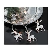 Svietiaca reťaz  Best Season Mirror Reindeers