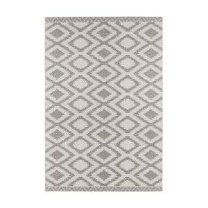 Sivý koberec vhodný aj do exteriéru Kalora, 180×280cm