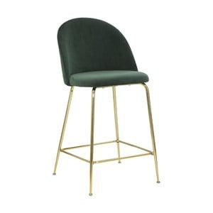 Sada 2 zelených barových stoličiek Mauro Ferretti Lu×ury