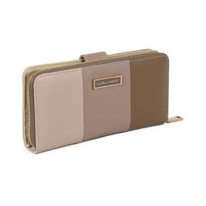 Hnedá peňaženka z koženky Laura Ashley Oceana