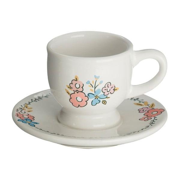 Šálka s tanierikom Premier Housewares Pretty Things