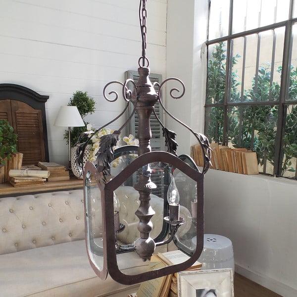 Stropné svietidlo s 2 svetielkami Orchidea Milano Antique Rusty