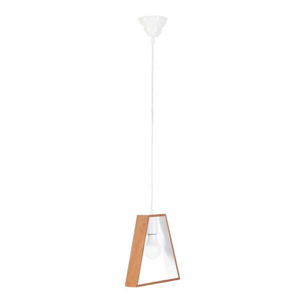 Závesné svietidlo z habrového dreva Masivworks Bella