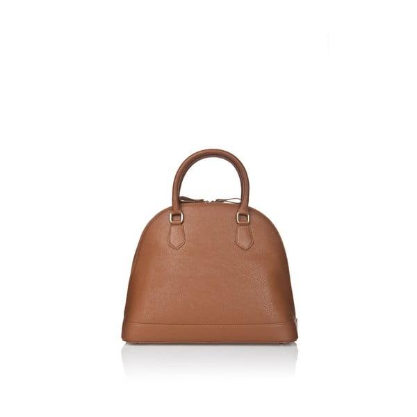 Kožená kabelka Markese 5010 Cognac