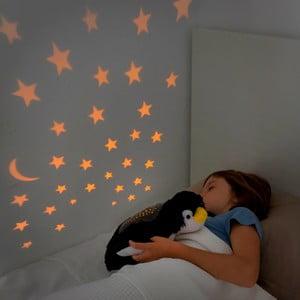 Detský plyšový LED projektor InnovaGoods Penguin