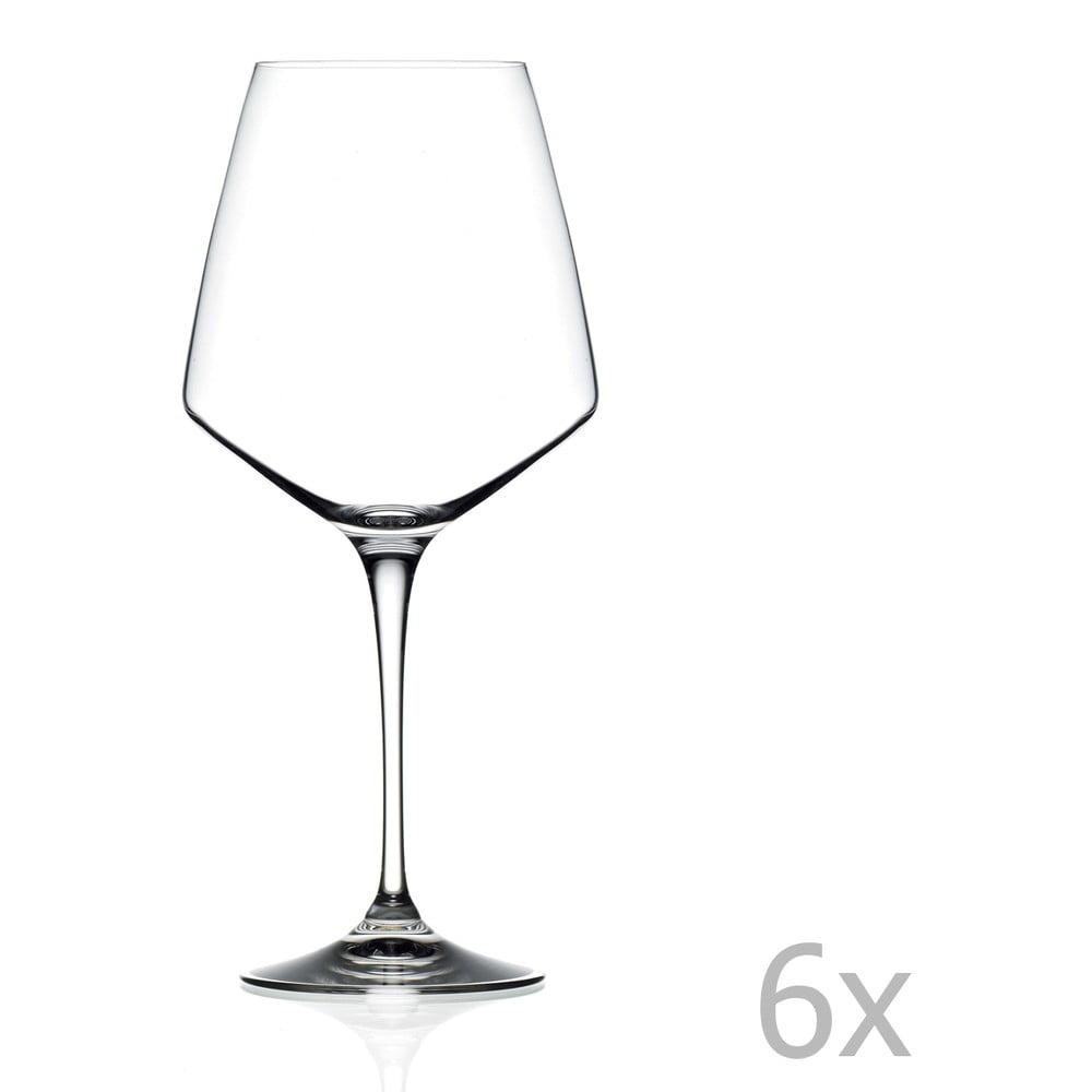 Sada 6 pohárov na víno RCR Cristalleria Italiana Alberta, 790 ml