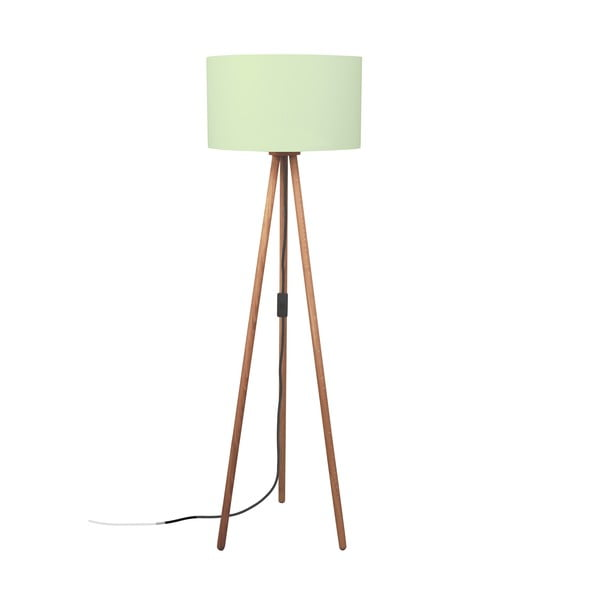 Stojacia lampa Gold Inside Green
