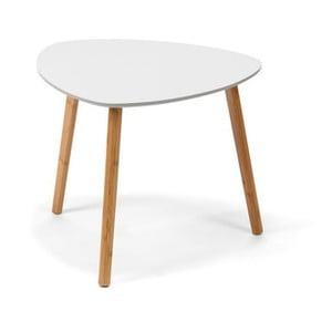 Biely konferenčný stolík loomi.design Viby