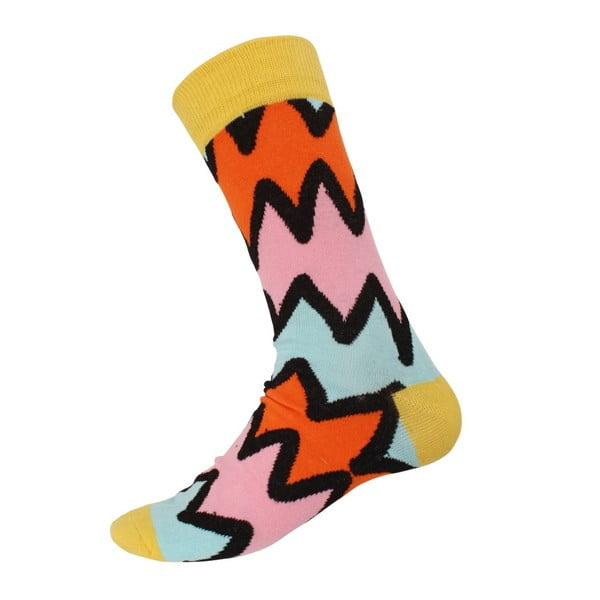 Ponožky Mix Yellow, veľkosť 40-44