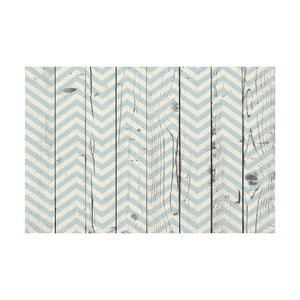 Vinylový koberec Azul Madera, 65x100 cm