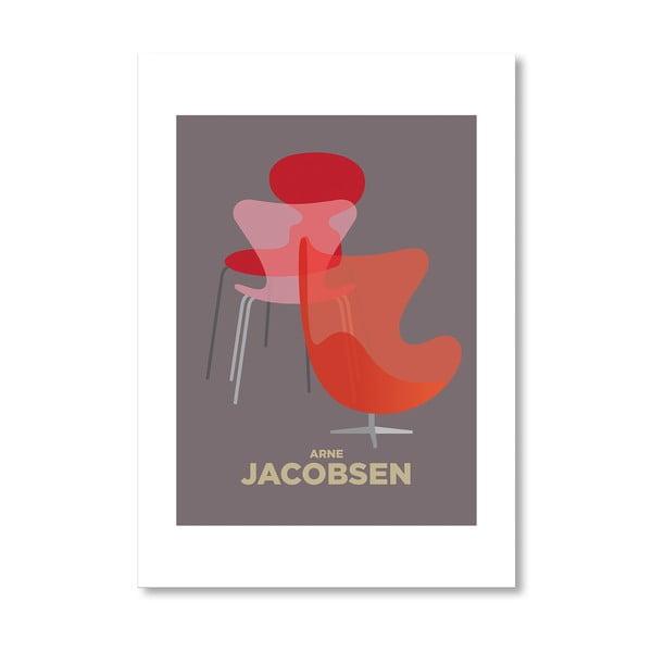 Autorský plagát Arne Jacobsen