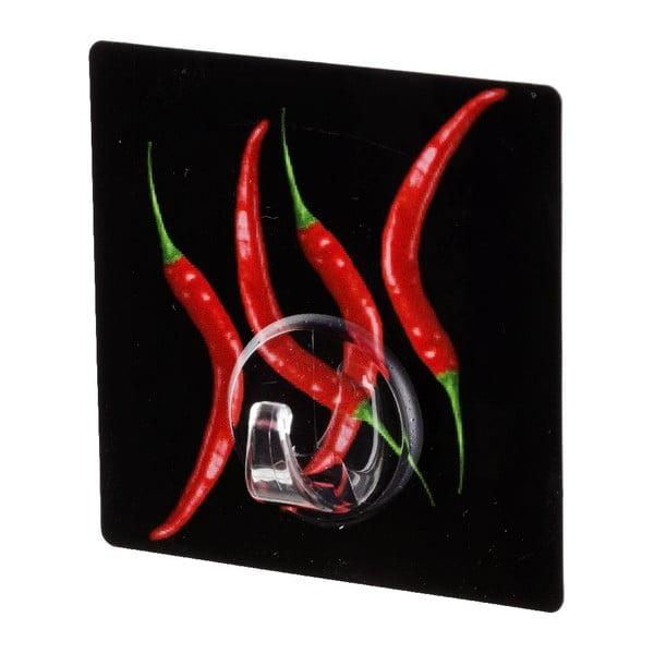 Samodržiaci vešiak Wenko Static-Loc Hot Pepper