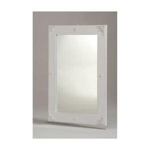 Biele nástenné zrkadlo Castagnetti Nadine
