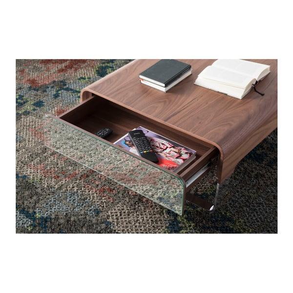 Konferenčný stolík s úložným priestorom z orechového dreva Ángel Cerdá Demien