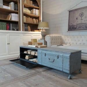 Konferenčný stolík s úložným priestorom Suitcase Antique