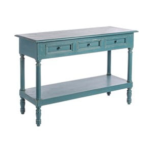 Modrý konzolový stolík Bizzotto Ania
