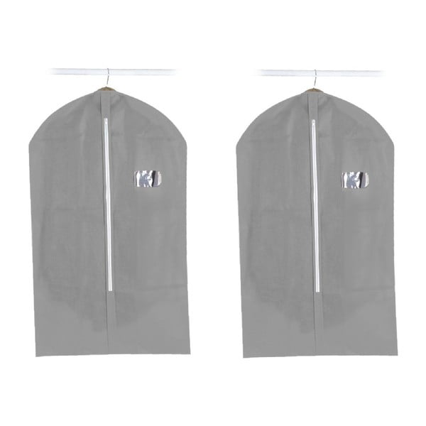 Set 2 obalov na oblek Suit Cover Grey