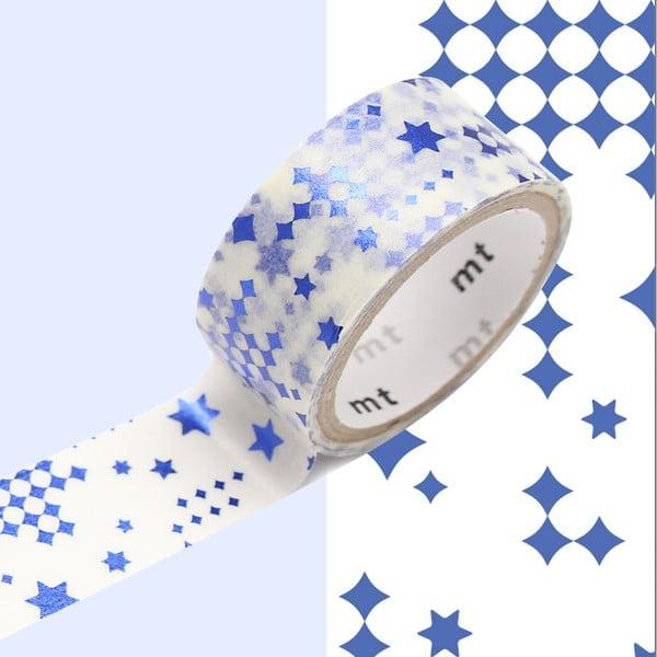 Washi páska Star Blue