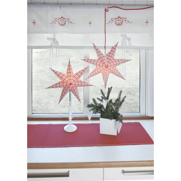 Závesná svietiaca hviezda Lisa, 70 cm