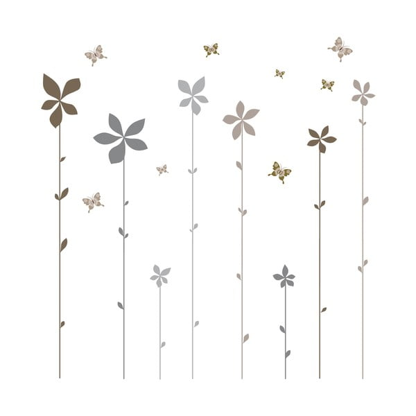 Dekoratívna samolepka Eurographics Flowers Summer