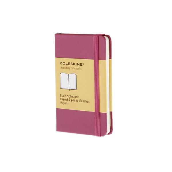 Zápisník Moleskine XS Dark Pink, nelinkovaný