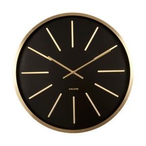 Hodiny Present Time Maxiemus Brass Black