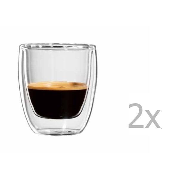 Sada 2 hrnčekov na espresso bloomix Roma