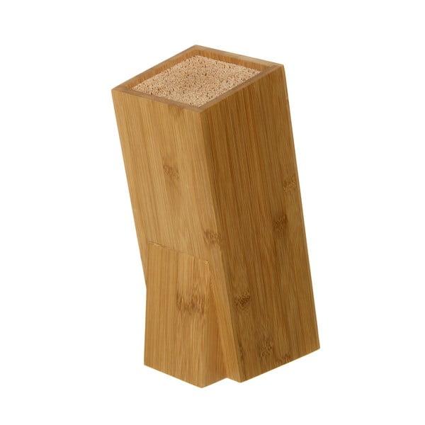 Bambusový blok na nože Unimasa, výška 26,3 cm