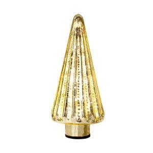 Sklenený stromček Glass Gold