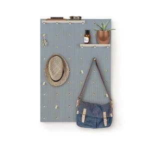 Nástenka s poličkami Pegboard Azul