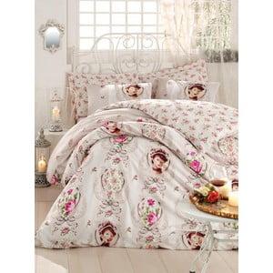 Ružová prikrývka na posteľ Love Colors Karen, 200 x 240 cm