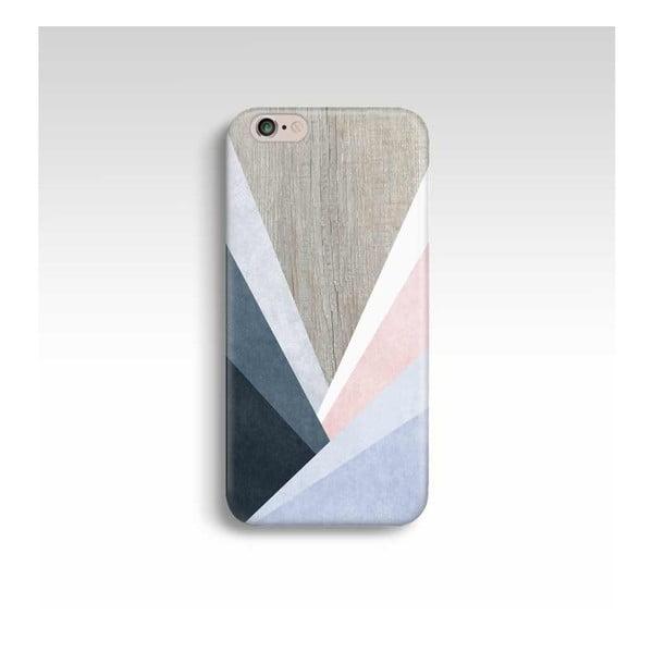 Obal na telefón Wood Triangles pre iPhone 5/5S