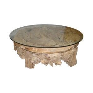 Konferenčný stolík z teakového dreva HSM Collection Tearo