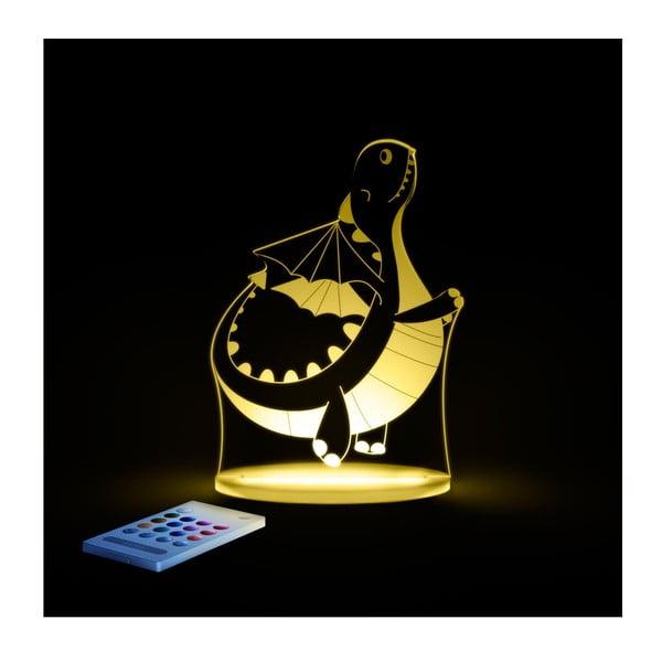 Detské LED nočné svetielko Aloka Dinosaur