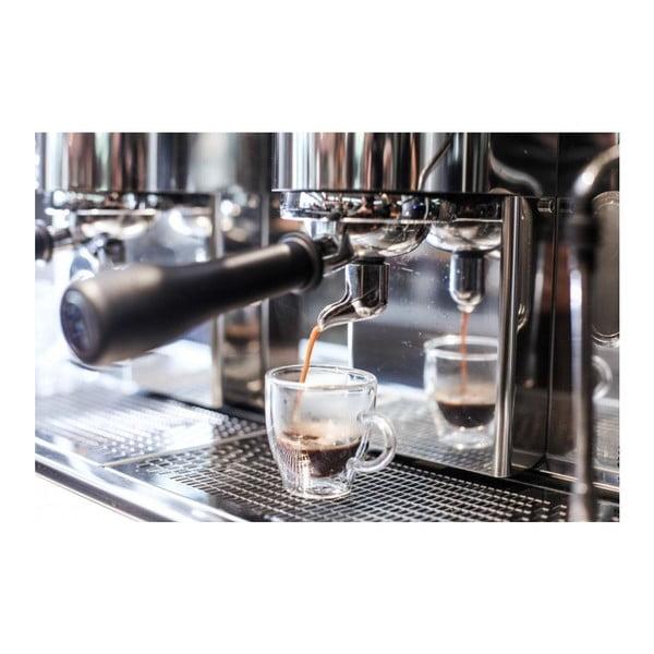 Sada 2 dvojitých hrnčekov Vialli Design Amo Espresso, 50 ml