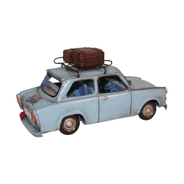 Dekoratívny objekt Antic Line Blue Car