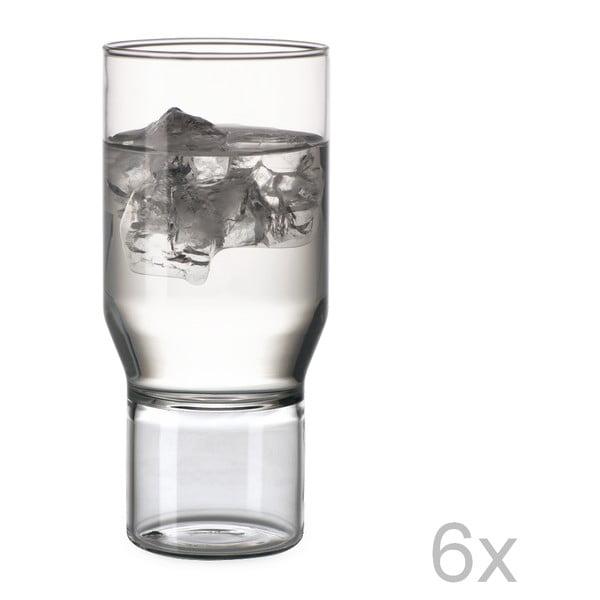 Sada 6 pohárov Funky Water
