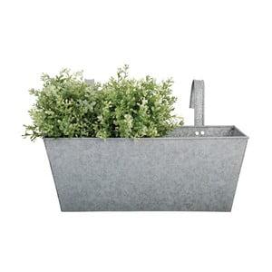 Zinkový závesný kvetináč Esschert Design