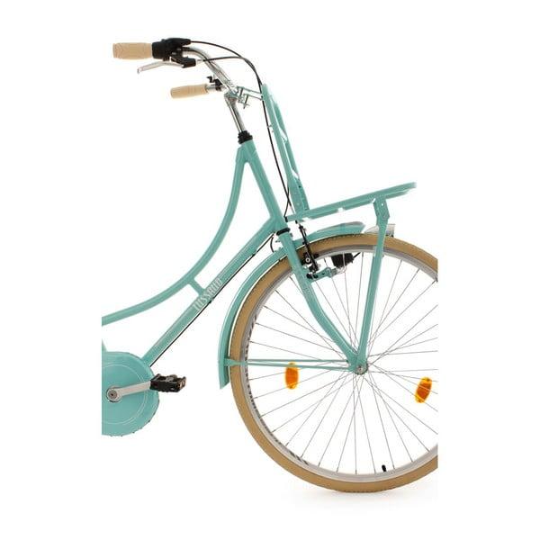 """Bicykel Tussaud Green 28"""" s předním nosičem, výška rámu 54 cm, 3 prevody"""
