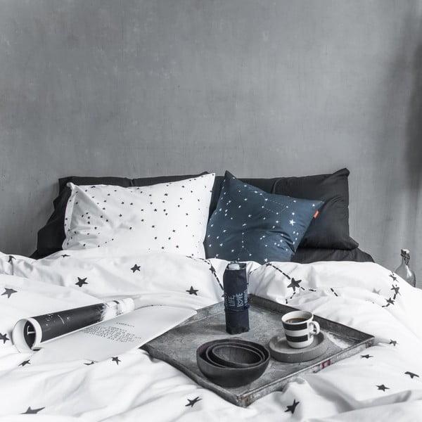 Bavlnená obliečka na paplón Blanc Constellation, 200 × 200 cm