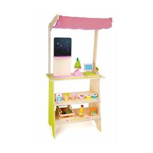 Detský drevený obchod na hranie Legler Nena