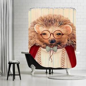 Kúpeľňový záves Hedgehog, 180x180 cm