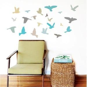 Nástenné samolepky Art For Kids Blue Birds